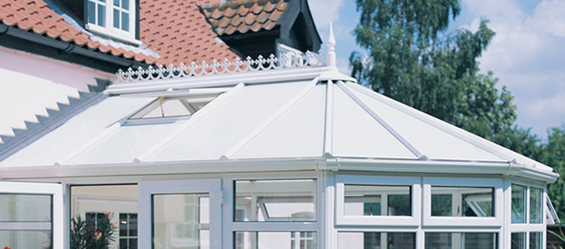 Polycarbonate Roof Conservatory