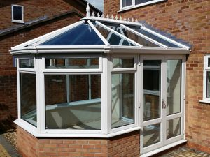 Conservatory with Active Glass Roof