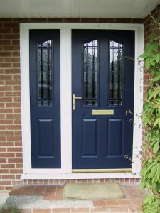 Composite Door with with Side Panel