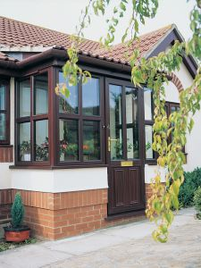 Swish Porch in Mahogany