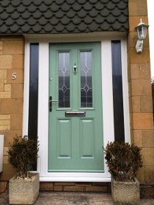Duck Egg Composite Door