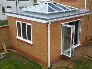 Extension with Roof Lantern & Bifolding Doors