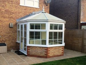 Conservatory prior new roof