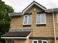 White Fascia, Soffits & Guttering