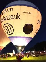 Southern Plasticlad Balloon, Bristol Balloon Fiesta 2017 (Night Glow)