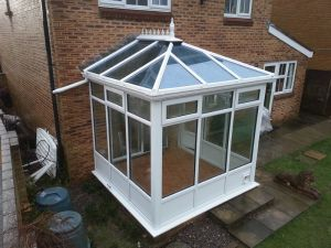 Small White Conservatory
