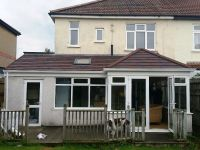 New Guardian Roof to existing Conservatory