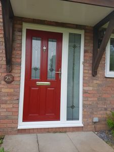 Bamburgh Composite door, Infinity glass
