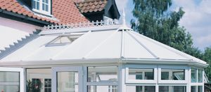 Polycarbonate Conservatory Heade