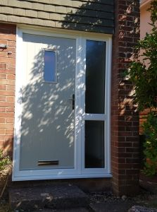 Cottage style composite door