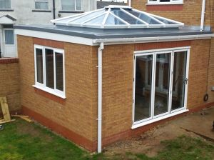 Extension with Roof Lantern