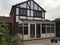 Lean-to Conservatory with Guardian roof including two Velux Windows